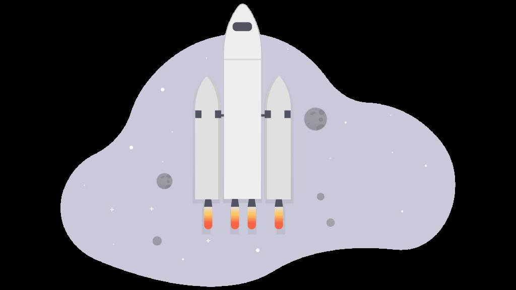 Rocket fast cloud hosting servers