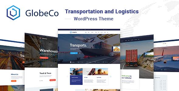 GlobeCo - Transportation and Logistics WordPress Theme