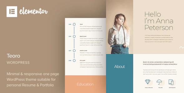 Teoro WordPress Theme